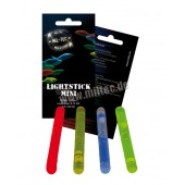 Mil-Tec - Lightstick światła chemiczne - Mini - 4,5x40mm x 10szt.- kolor: Niebieski