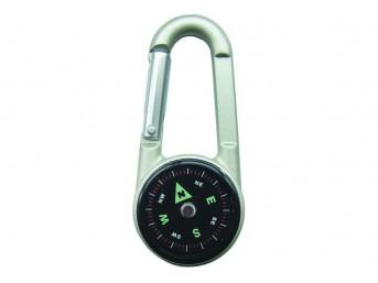 Kompas BCB 3 w 1 CK310 termometr karabińczyk FLUORESCENCYJNY