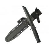 Nóż taktyczny Ka-Bar 1245 bojowy Czarny Tanto