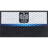 KAMPFHUND - Naszywka Polska Policja - Duża - Bez napisu - Gen I