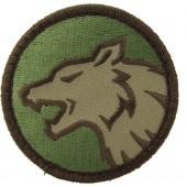 Naszywka MIL-SPEC MONKEY Wolfhead Multicam