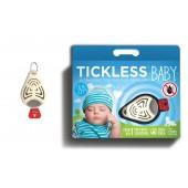 Ultradźwiękowy odstraszacz kleszczy dla dzieci Tickless beż