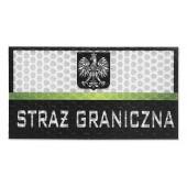 Combat-ID - Naszywka Polska Straż Graniczna - Duża - Gen I