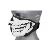 Maska Chusta neoprenowa 3D Skull Czarny 101 INC