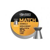 Śrut diabolo JSB Match Middle 4,49 mm 500 szt.