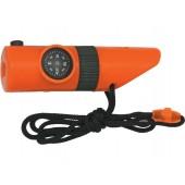 Kompas + gwizdek  + termometr + pojemnik Explorer 14