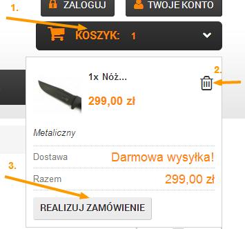 Koszyk DEMILITAR.PL