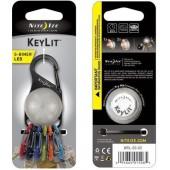 Nite Ize - KeyLit - Brelok do kluczy z Latarką LED  karabinek