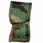 Ładownica kontraktowa M4 Double Magazine CQB Pouch Woodland US Army