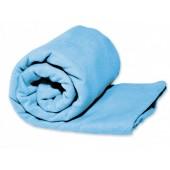 Ręcznik turystyczny szybkoschnący Rockland niebieski  L