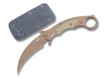 Nóż karambit Colt Desert CT513 neck full tang etui