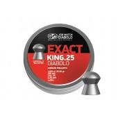 Śrut diabolo JSB Exact King 6,35 mm 350 szt.
