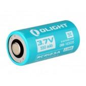Akumulator 3,7V Olight RCR123 16340 550 mAh S10R S1R