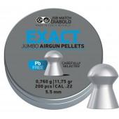 Śrut diabolo JSB Exact Jumbo Lead free 5,5 mm 200 szt.