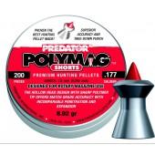 Śrut diabolo JSB Polymag Short 4,5 mm 200 szt.