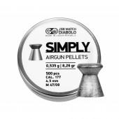 Śrut diabolo JSB Simply 4,5 mm 500 szt. 0,535 g