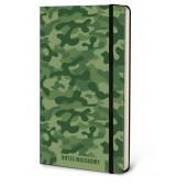 Notes wojskowy moro, notatnik