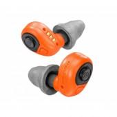 Elektroniczne, aktywne wkładki Peltor EEP-100 pomarańczowe