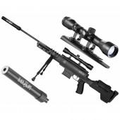 Wiatrówka Black Ops Sniper 5,5 mm z lunetą 4x32