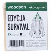 Ekologiczna rozpałka Woodson Eko - ognisko Survival 1 - pak