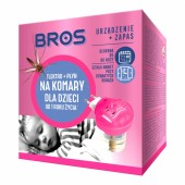 Elektro + płyn Bros na komary dla dzieci