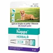 Krople Happs przeciw pchłom i kleszczom pies 20 - 40 kg