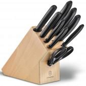 Blok na noże kuchenne Victorinox Swiss Classic 6.7193.9 z drewna bukowego