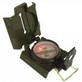 Kompas Mil-Tec podświetlany metalowy oliwkowy