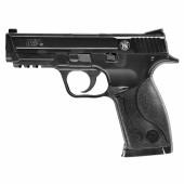 Replika pistolet Smith&Wesson M&P40 czarna M&P40. 6 mm sprężynowa